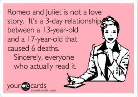Romeo and Juliet for Reals